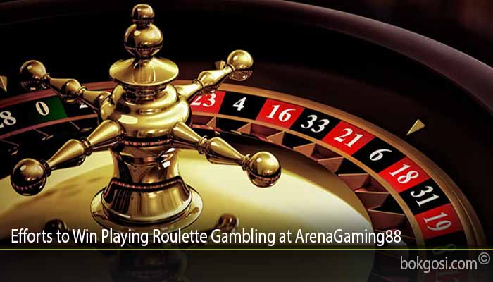Efforts to Win Playing Roulette Gambling at ArenaGaming88